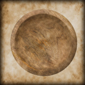Wooden Plates & Bowl